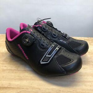 Bontrager Anara Women's Bicycling Road Shoe Size 5.5 US 37 EU Black Pink