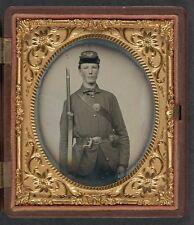 Photo Civil War Union Corporal Williams 11th Regiment New Hampshire Volunteers