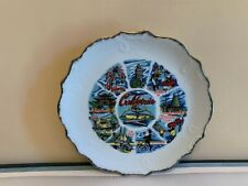 Vintage Early 1980's California State Souvenir Collector Plate