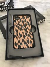 NEW Marc By Marc Jacobs Leopard Print iPhone 4 / 4s Hard Shell Case Rare