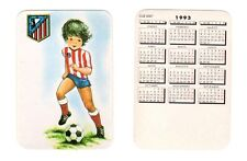 Calendario Bolsillo 1993 Atlético de Madrid