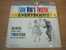 oliver & the twisters look who's twistin'  everybody 1961 uk pye label vinyl lp