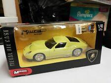 MONDO MOTORS LAMBORGHINI MIURA  CONCEPT CAR NEW IN BOX 1/43 SCALE