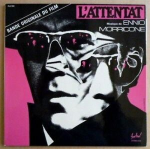 Ennio Morricone - L'Attentat - 1972 France Press - Near Mint Vinyl LP
