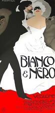 Marcelo Dudovich Bianco and Nero 2 Sheet Hand Pulled Lithograph 35x72 FREE SHIP