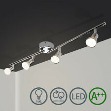 GU10 4-Flammig LED Deckenstrahler Schlafzimmer Deckenspot Schwenkbar Warmweiss