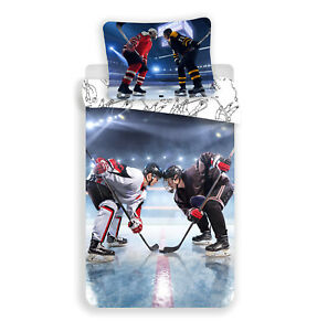 Hockey Ice Hockey Fan Bed Cover 140 X 200 CM