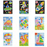 Early Educational Arts Craft EVA Foam  Stickers 3D Mosaics Puzzle  drawing toys