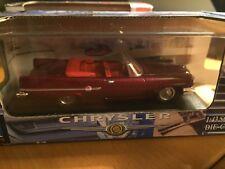 1959 CHRYSLER 300E CONVERTIBLE Die-Cast SZ 1:43 New/ Chrome Wheels RED HOT RARE