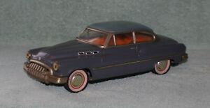 "VINTAGE 1950s BUICK 2DR SEDAN JAPAN FRICTION POWERED TIN TOY 11"" CAR"