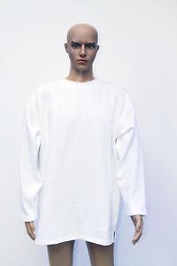 Sweatshirt Freestyle M L XL XXL weiß weißmeliert Pullover Sweater Sweat-Shirt
