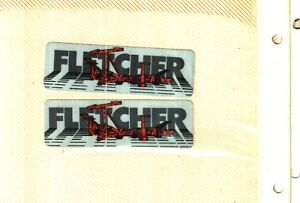 2 NICE Fletcher Coal Mining Sticker # 202
