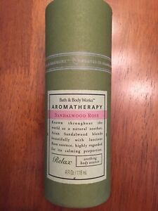 Bath & Body Works Aromatherapy Sandalwood Rose - RARE