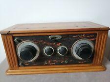 Ancien poste TSF à lampe /radio