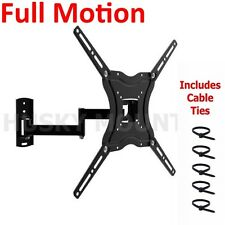 TV Wall Mount Full Motion Tilt Swivel 32 38 40 42 46 inch LED LCD Flat Screen