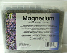 Natusat Magnesiumpellets mit Kräutern 3000g Mineralfuttermittel für Pferde