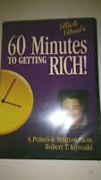 60 Minutes To Get Rich - A Personal Seminar From Robert T Kiyosaki - New Sealed