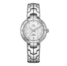 TAG HEUER enlace Diamante Auto Ladies Watch WAT2312.BA0956 - RRP £ 3650-Nuevo