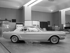 Ford Mustang Prototype Concept  December  17 1962  8 x 10  Photograph