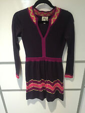 Milly purple knit dress Size P