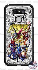 Superhero Avengers Characters Phone Case Cover Fits iPhone Samsung LG Google