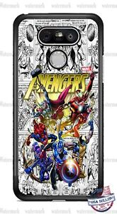 Avengers Comic Book Characters Phone Case Cover For iPhone Samsung LG Google