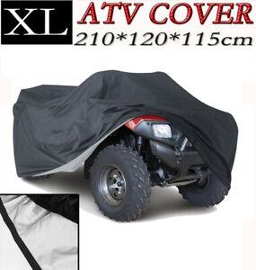 XL Waterproof ATV Quad Bike Cover For Honda FourTrax TRX 250 300 350 2X2 4x4