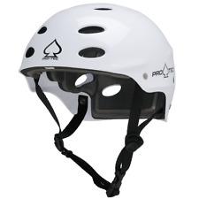 PRO TEC HELMET ACE WAKE Watersports Helmet Wake Kite surf Rafting Satin white