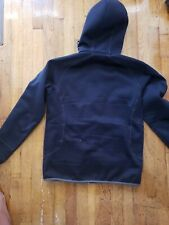 Patagonia Men's Black Tech Fleece Full Zip Hoodie Hooded Sweatshirt M