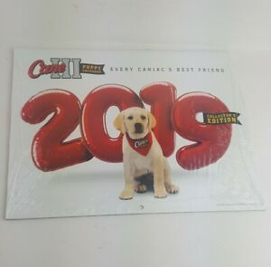 Raising Cane's Chicken Fingers 2019 Promotional Wall Calendar Canes III Puppy
