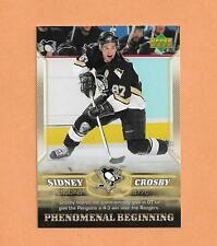 Sidney Crosby Rookie Upper deck 2006 Phenomenal Beginings Card # 17