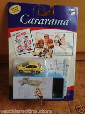 PEUGEOT 206 CARARAMA TIN BOX PUBBLICITARIA latta PEPSI COLA LIMITED EDITION 1/72