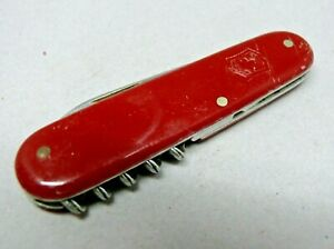 1950's Victorinox / Victoria 84mm Gourmet / Waiter Swiss Army Knife