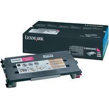 ORIGINALE LEXMARK C500H2MG Magenta Toner Lexmark C500/X 500/502 X NUOVO a-Ware