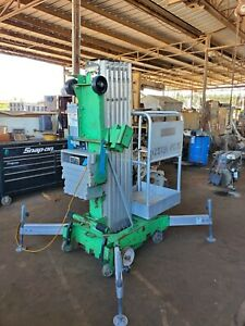 : 2011 Genie AWP-30S Super Series Aerial Lift,ready to work.Manlift Electric