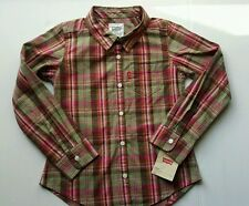 Levi's shirt, Plaid, Long Sleeve, Woven,. Size 6x, 100 % Cotton.