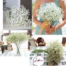 Gypsophila Babs Breath Artificial Fake Silk Flowers Plant Home Wedding Decors