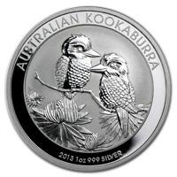 2013 Australian Kookaburra 1 oz Silver Bullion Coin