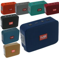 Tragbarer Mini Bluetooth Lautsprecher Soundbox Soundstation Musikbox MP3 Radio