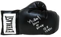 Michael Nunn Signed Everlast Black Boxing Glove w/58-4, 37KO's (SCHWARTZ COA)