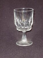 Water Glass Lead Crystal  - Set of 4