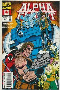 The Alpha Flight #125 Comic Book - Marvel Comics