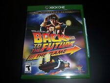 Replacement Case (NO  GAME) BACK TO THE FUTURE THE GAME XBOX ONE 1 XB1 ORIGINAL