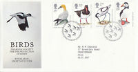 17 JANUARY 1989 BIRDS RSPB ROYAL MAIL FIRST DAY COVER BUREAU SHS