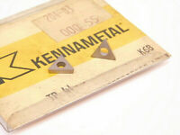 NEW SURPLUS 10PCS. KENNAMETAL  TP 41 GRADE: K68 CARBIDE INSERTS