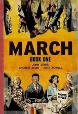 March: Book One 1st edition by John Lewis, Andrew Aydin & Nate Powell Paperback