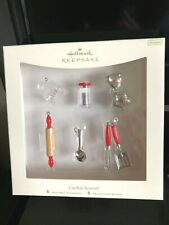 Hallmark 2007 Miniature Cookie Season Set Of 6 Ornaments