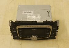 GENUINE SONY FORD MONDEO FOCUS S-MAX GALAXY MP3 PLAYER 6 CD GGDS RADIO WITH CODE