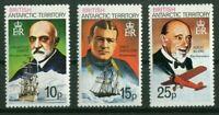 British Antarctic Territtory 55,56,57 aus 45-59 Antarktisforscher postfrisch MNH