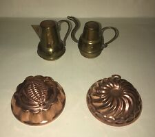 Vier ältere Teile aus Kupfer Nr. 2